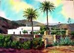 Obras de arte: Europa : España : Andalucía_Almería : Almeria : Cortijo en Los EScullos - Almería