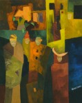 Obras de arte: America : Argentina : Buenos_Aires : Capital_Federal : Cuatro amigos
