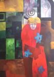 Obras de arte: America : Argentina : Buenos_Aires : Capital_Federal : Hombre solo