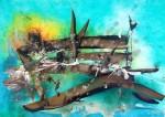 Obras de arte: America : Argentina : Buenos_Aires : Vicente_Lopez : El puente