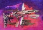 Obras de arte: America : Argentina : Buenos_Aires : Vicente_Lopez : La cordillera y sus seres de la noche