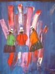 Obras de arte: America : Perú : Cusco : cusco_ciudad : Trilogia