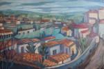 Obras de arte: Europa : España : Madrid : Madrid_ciudad : POBLADO CON PLAZA