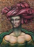 Obras de arte: America : Argentina : Cordoba : cordoba_capital : turbante rojo