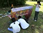 Obras de arte: America : Panamá : Panama-region : BellaVista : UNA BANCA PARA ETANISLAO ARIAS
