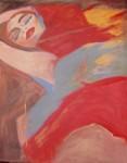 Obras de arte: Europa : España : Catalunya_Barcelona : Barcelona_ciudad : Acostada entre colores