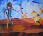 Obras de arte: America : Chile : Region_Metropolitana-Santiago : ñuñoa : Quijote