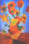 Obras de arte: America : Chile : Region_Metropolitana-Santiago : ñuñoa : Girasoles de Van Gogh