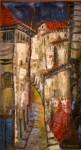 Obras de arte: America : Perú : Cusco : cusco_ciudad : Calle tipica