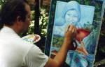 Obras de arte: America : Honduras : Lempira : GRACIAS_ : BODEGON CON LUNA