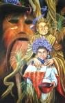 Obras de arte: America : Honduras : Lempira : GRACIAS_ : DOÑA CARMEN CON MALINCHE