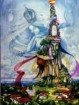 Obras de arte: America : Honduras : Lempira : GRACIAS_ : MADRELUNA