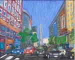 Obras de arte: America : Argentina : Buenos_Aires : cIUDAD_aUTíNOMA_DE_bS_aS : Diagonal Norte