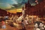 Obras de arte: Europa : España : Galicia_Lugo : lugo_ciudad : historias en roma