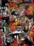 Obras de arte: Europa : España : Catalunya_Barcelona : Barcelona_ciudad : Paisaje aéreo