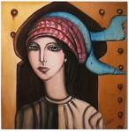 Obras de arte: America : Argentina : Buenos_Aires : Ciudad_de_Buenos_Aires : mujer oriental