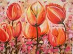 Obras de arte: Europa : España : Castilla_y_León_Palencia : palencia : Ramillete de tulipanes