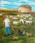 Obras de arte: Europa : España : Castilla_y_León_Palencia : palencia : Pastoreo
