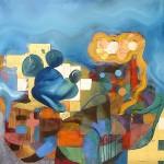 Obras de arte: Europa : España : Catalunya_Barcelona : BCN : HYBRID-CAECUS