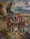 Obras de arte: Europa : España : Madrid : Madrid_ciudad : Jugadores de Polo VII