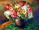 Obras de arte: Europa : España : Madrid : Las_Rozas : Jarrón con flores