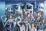Obras de arte: America : Colombia : Distrito_Capital_de-Bogota : Bogota : nocturno