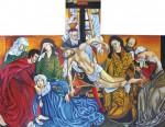 Obras de arte: America : Colombia : Distrito_Capital_de-Bogota : Bogota : el descendimiento de la cruz-Van Der Weyden