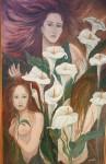 Obras de arte: America : Argentina : Buenos_Aires : Ascension : Mujeres y calas