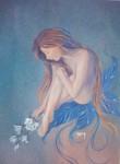 Obras de arte: America : Argentina : Buenos_Aires : Ascension : Desnudo sobre hojas