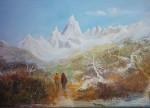 Obras de arte: America : Argentina : Buenos_Aires : Ascension :  Camino al Fitz Roy
