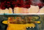 Obras de arte: America : México : Chiapas : Tuxtla : Vías de oscuro 1