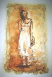 Obras de arte: Europa : España : Catalunya_Tarragona : Banyeres_Penedes : Mujer III