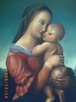 Obras de arte: America : Colombia : Antioquia : Medellín : VIRGEN CON NIÑO