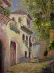 Obras de arte: Europa : España : Andalucía_Granada : Granada_ciudad : Calle Cruz de Piedra