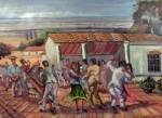 Obras de arte: America : Venezuela : Aragua : Maracay : JOROPO LLANERO