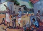 Obras de arte: America : Venezuela : Aragua : Maracay : LAS PILANDERAS