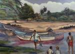 Obras de arte: America : Venezuela : Aragua : Maracay : PESCADORES DE OCUMARE