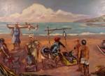Obras de arte: America : Venezuela : Aragua : Maracay : PESCADORES DE RAYA