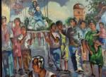 Obras de arte: America : Venezuela : Aragua : Maracay : PROCESION DE LA PASTORA