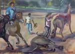 Obras de arte: America : Venezuela : Aragua : Maracay : TORO COLEADO
