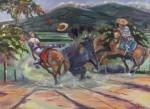 Obras de arte: America : Venezuela : Aragua : Maracay : TORO NEGRO