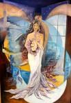 Obras de arte: America : Argentina : Buenos_Aires : Ascension : Nueve Lunas
