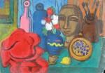Obras de arte: America : Argentina : Cordoba : Cordoba_ciudad : Cabeza de yeso