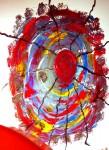 Obras de arte: Europa : España : Valencia : camp_de_morvedre : enbolic amb roig
