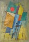 Obras de arte: America : Argentina : Cordoba : Cordoba_ciudad : Composición Abstracta N:1-Ciro Campos-