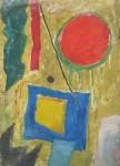 Obras de arte: America : Argentina : Cordoba : Cordoba_ciudad : Composicíon Abstracta-Ciro Campos-5