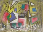 Obras de arte: America : Argentina : Cordoba : Cordoba_ciudad : Composicíon Abstracta-Ciro Campos-9