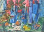 Obras de arte: America : Argentina : Cordoba : Cordoba_ciudad : Composicíon Abstracta-Ciro Campos-10