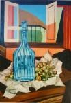 Obras de arte: America : Argentina : Buenos_Aires : Ascension : Botellòn azul