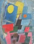 Obras de arte: America : Argentina : Cordoba : Cordoba_ciudad : Composicíon Abstracta-Ciro Campos-12